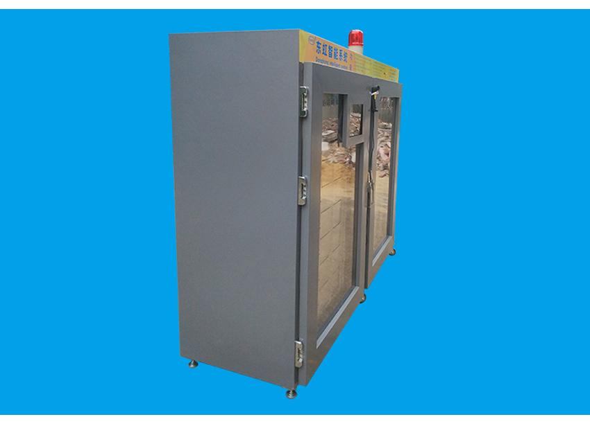 防氧化智能柜侧面图