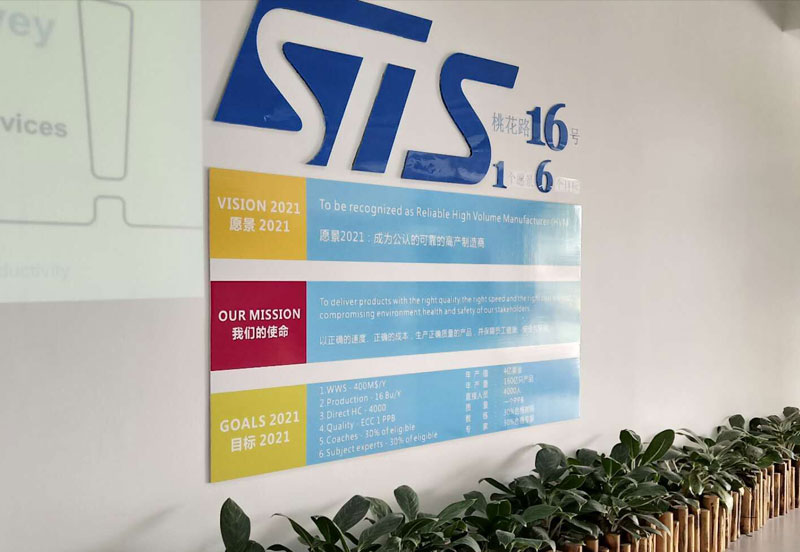 STS赛意法微电子厂内图