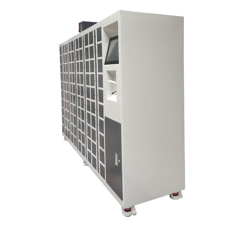 工业智能氮气柜侧面图